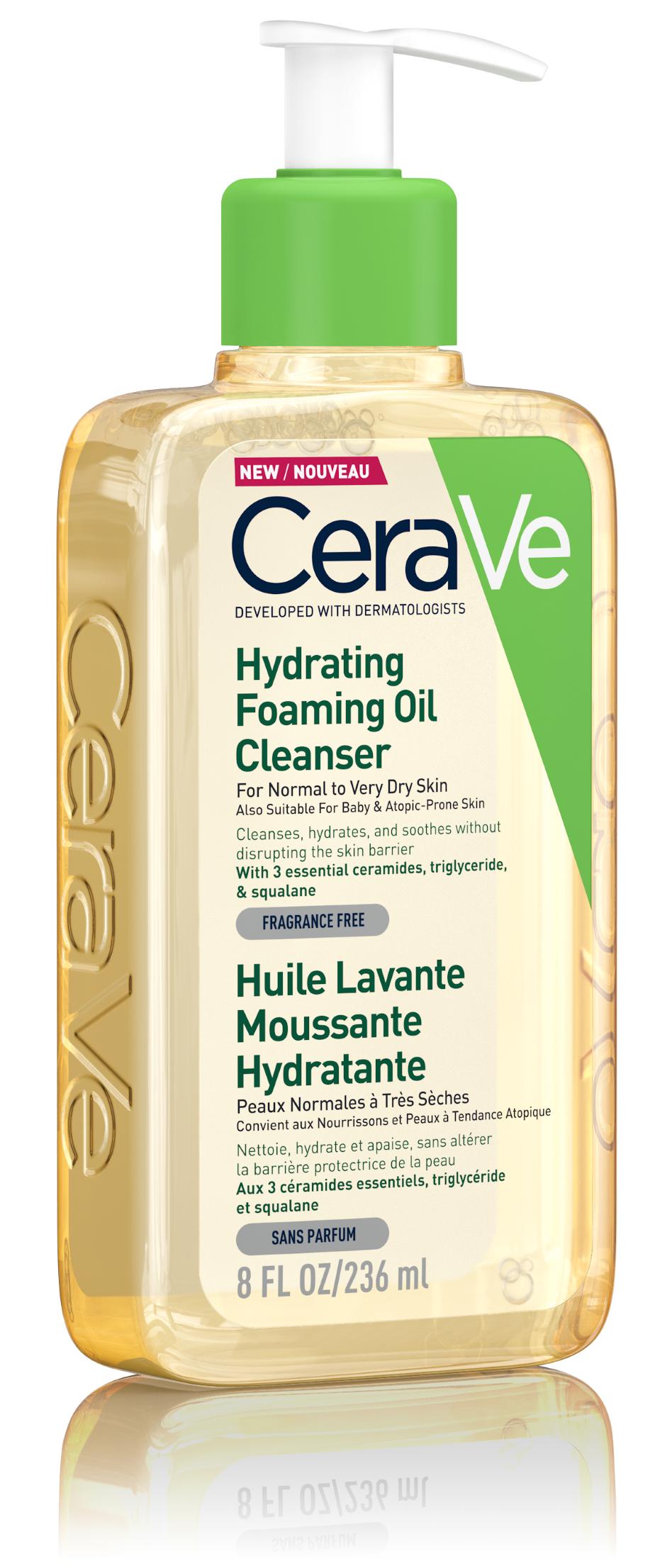 CeraVe Hidratáló habzó olajos tisztító 236ml