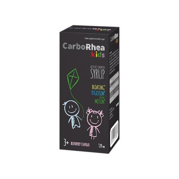 Carborhea Kids aktív szén folyadék 120ml